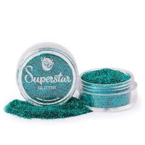 Green Aquamarine Glitter