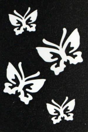 4 Vlinders sjabloon