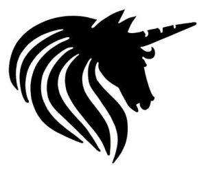 Horned Horse sjabloon